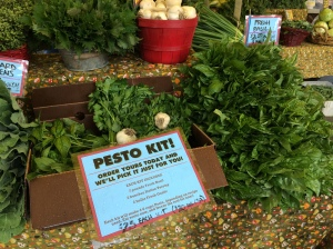Just $20 for CSA members! Get your Pesto Kit soon, while Basil is in its' prime!