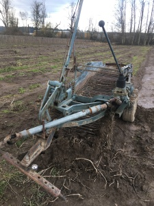PTO Driven potato digger. Works great. Adjustable depth and conveyor speed. $1,000.