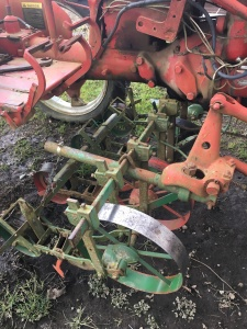 Toolbar with 4 Planet Junior Seeders. $1,200.