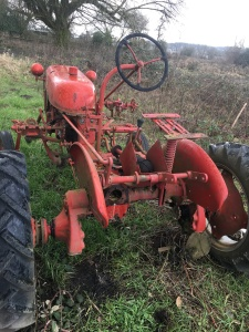 1950 Farmall Cub. Needs work but can be running with minimal effort. $1,000